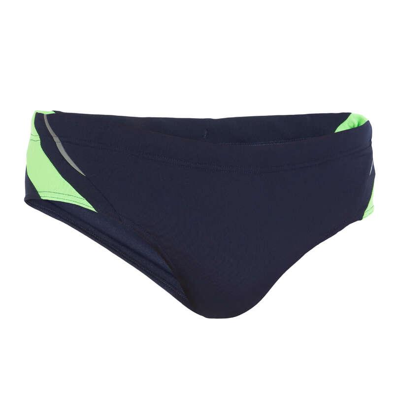 MEN'S SWIMSUITS Swimming - YOKE MEN'S BRIEF - BLUE GREEN NABAIJI - Swimwear