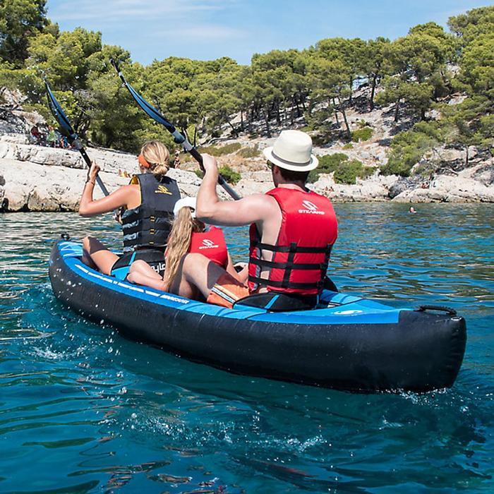 sevylor canoe kayak gonflable minnesota 2 ou 3 places decathlon. Black Bedroom Furniture Sets. Home Design Ideas