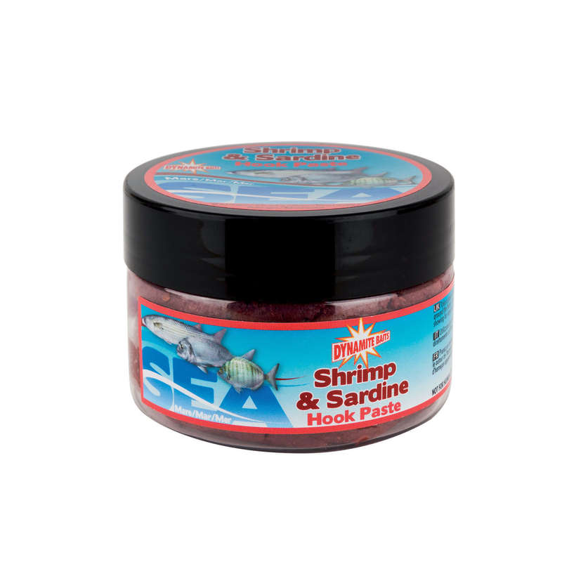 SALTWATER GROUNDBAITS, BAITS Fishing - Shrimp & Sardine Paste 150 g DYNAMITE BAITS - Fishing