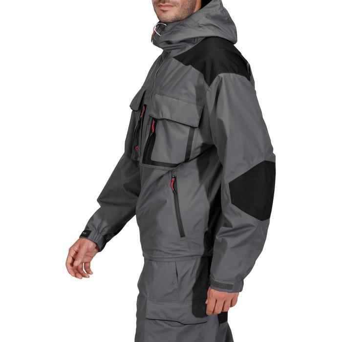 Veste pêche pluie-5 grey - 731626