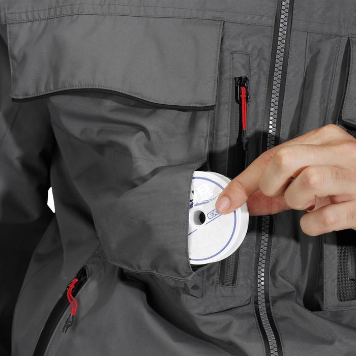 Veste pêche pluie-5 grey