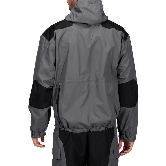 Veste pêche pluie-5 grey - 731632