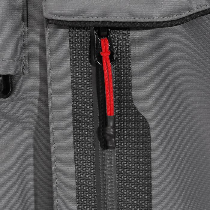 Regenjas voor hengelaars-5 grijs