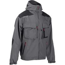mejor venta al por mayor mejor venta Textil del pescador - Chaqueta impermeable de pesca Caperlan 500 gris