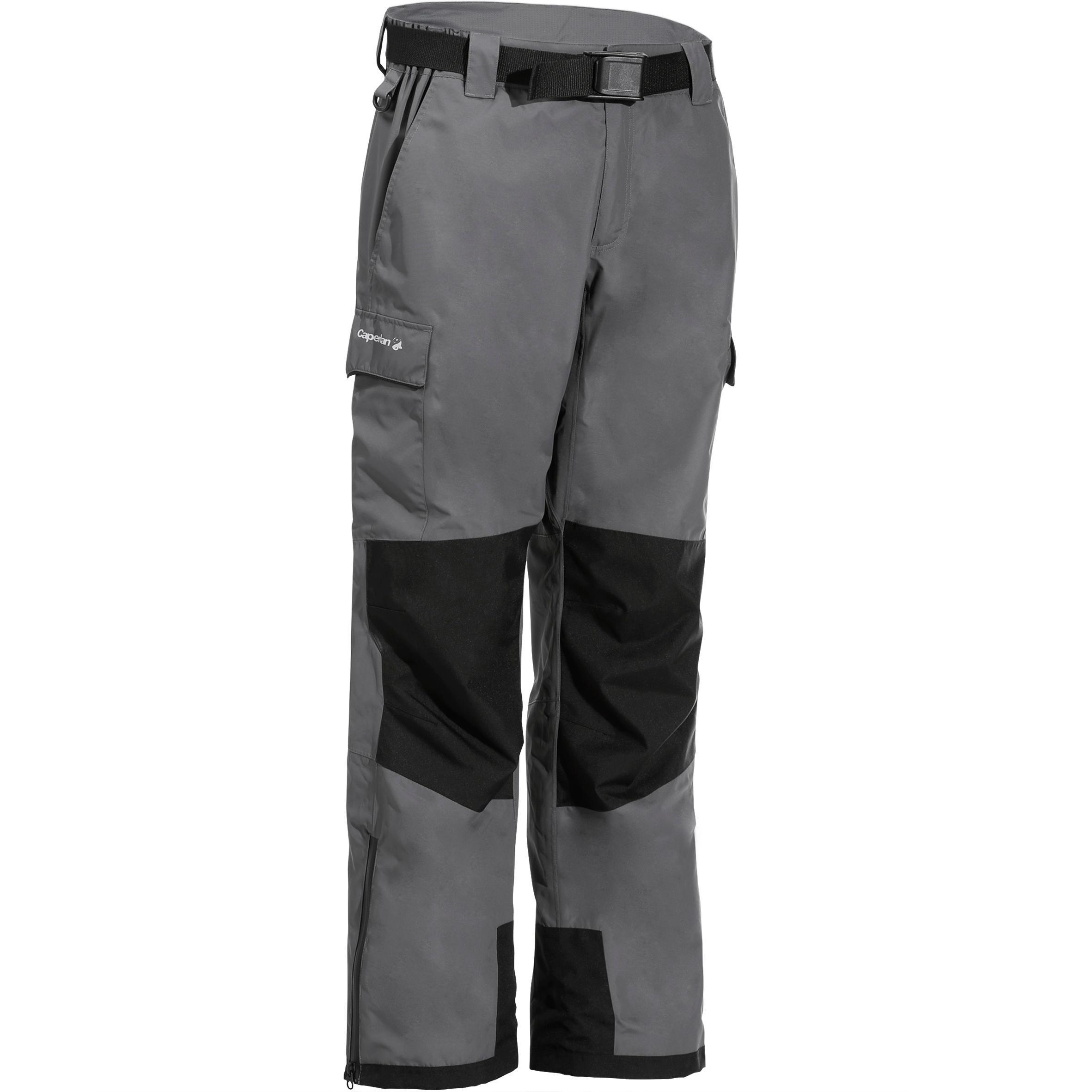 Pantalon Pescuit 500 Gri la Reducere poza