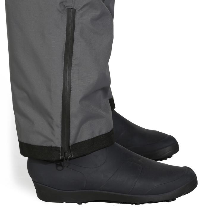 Pantalón impermeable de pesca Caperlan 500 DARK GREY