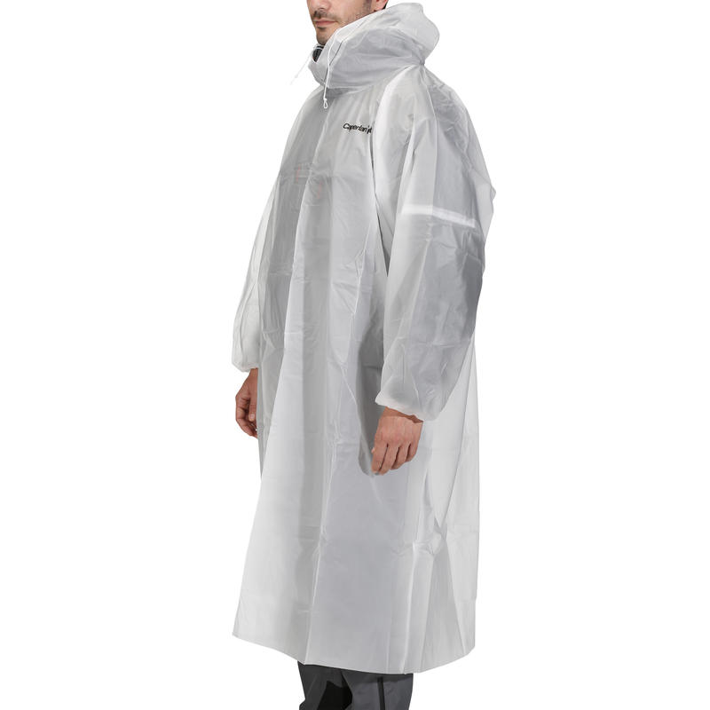 POCKET PONCHO RAINCOAT - UNISEX