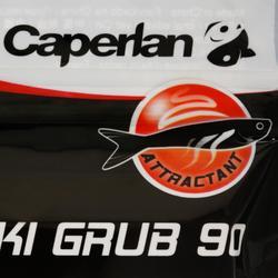 Señuelo flexible pesca IWAKI GRUB 90 RED HEAD
