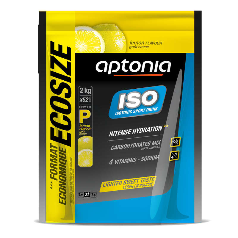 HYDRATION & BEFORE Triathlon - ISO Powder Lemon 2kg APTONIA - Triathlon Nutrition and Hydration