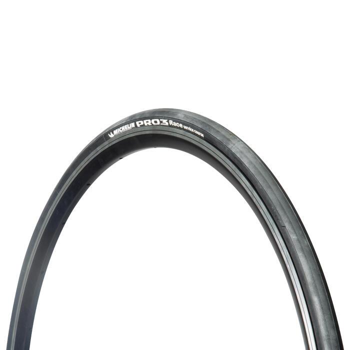 Fahrradreifen Faltreifen Rennrad Pro 3 Race 700 × 23 (23-622) schwarz