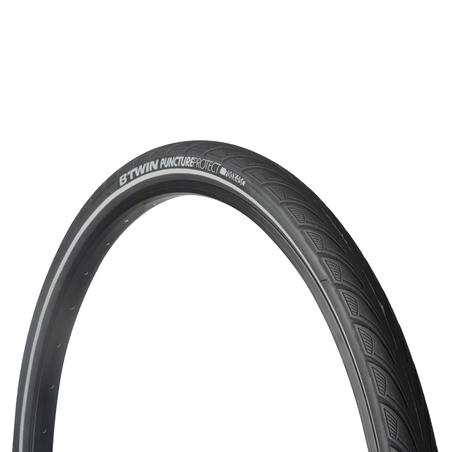 City5 Protect 700x42 City Bike Tyre / ETRTO 44-622 - Black