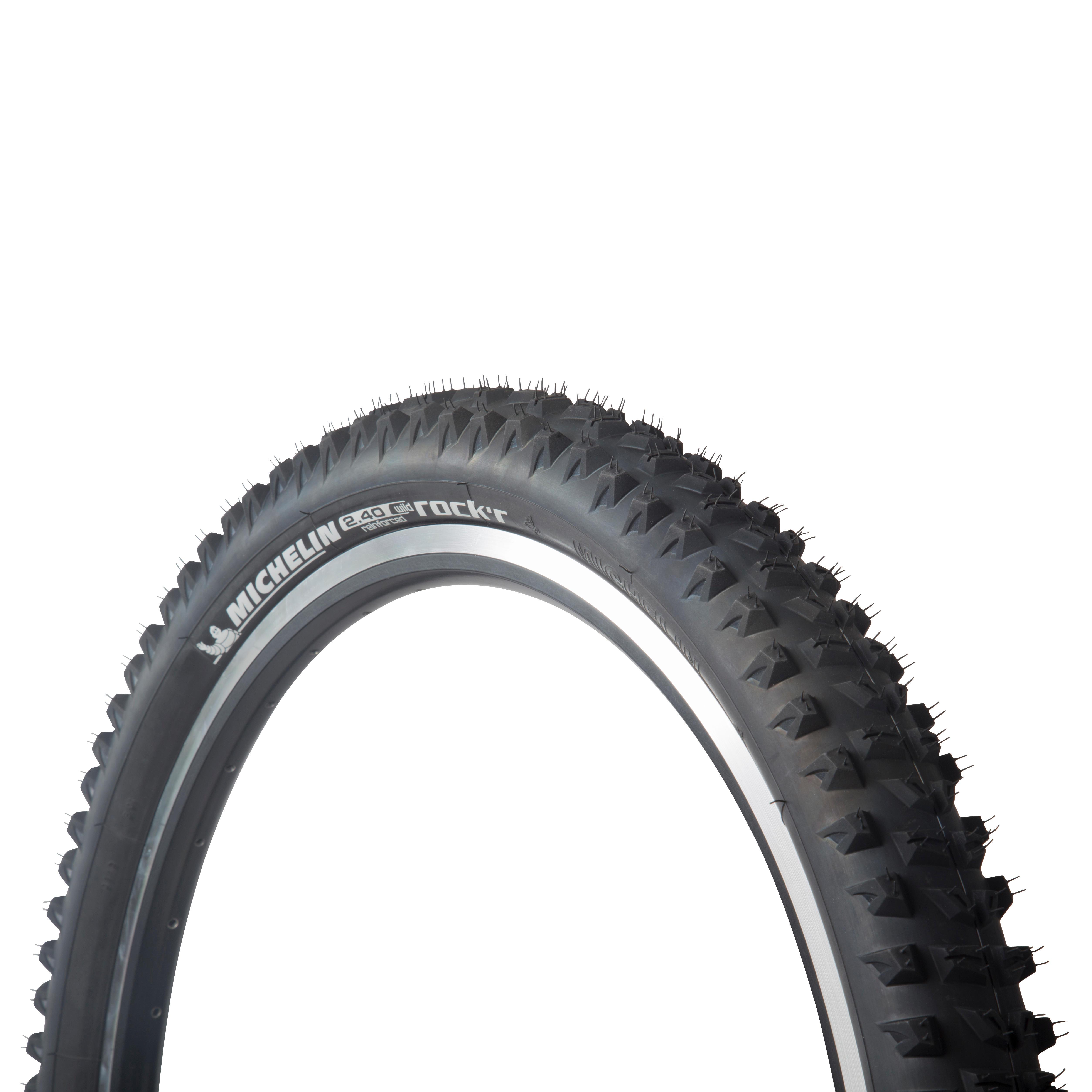 MICHELIN Wild Rock R Reforzada 26x2.40 Black Tyre