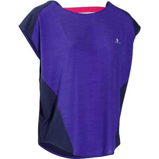Wijd fitness T-shirt Energy voor dames - 731847