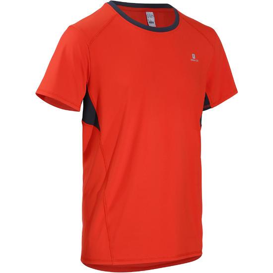 T-shirt fitness cardio heren geel met opdruk ENERGY - 731854