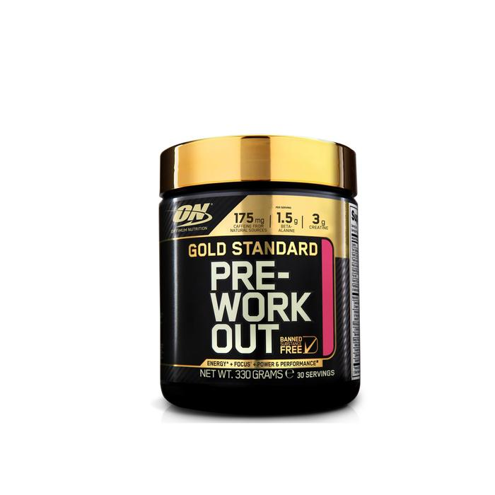 PRE WORKOUT GOLD STANDARD fruit punch 330gr - 731949