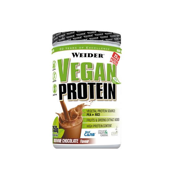 Plantaardige proteïne Weider Vegan chocolade 750 g - 731950