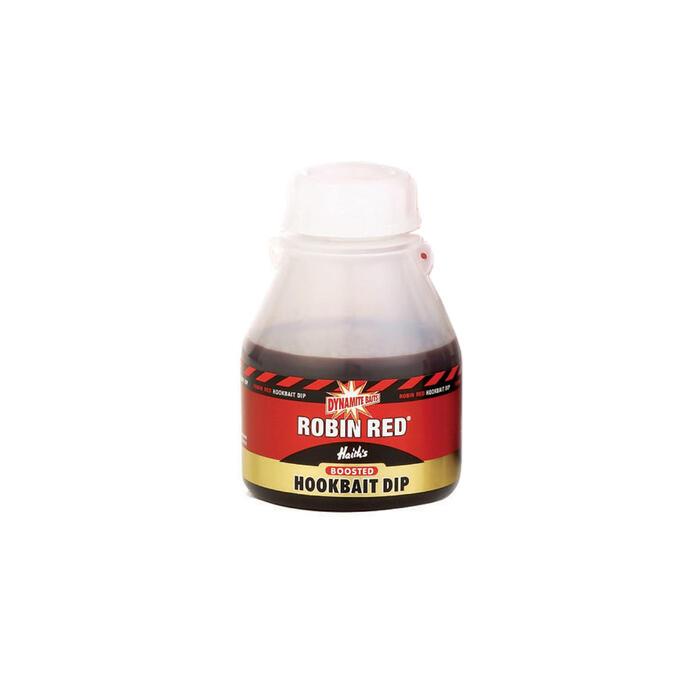 Aditivo PESCA de la CARPA ROBIN RED BAIT DIP 200 ml