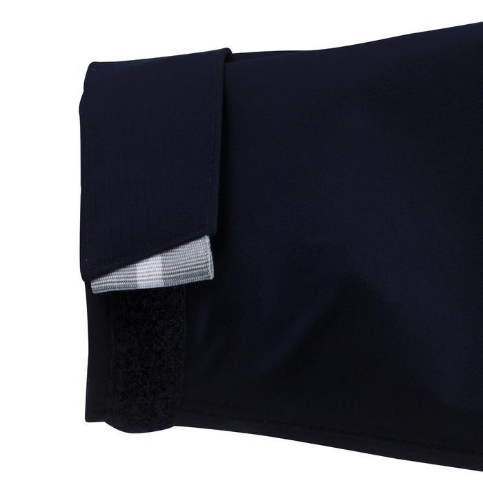 Chubasquero impermeable de vela niños 100 azul oscuro