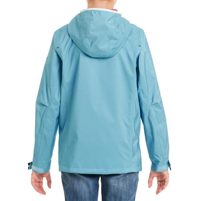 Chubasquero impermeable de vela júnior 100 AO azul