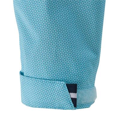 100 מעיל גשם לשיט לילדים - כחול בהיר