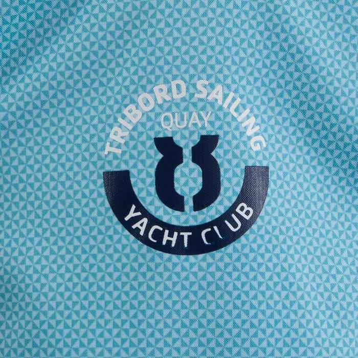 Segeljacke wasserdicht 100 Kinder hellblau