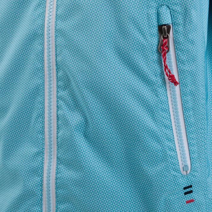 Chubasquero impermeable de vela niños 100 AO azul