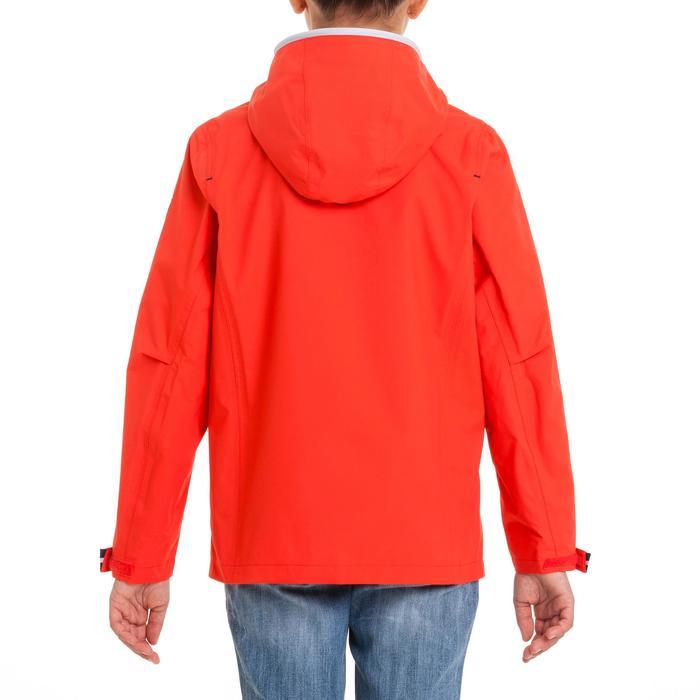 Chubasquero náutico 100 niño rojo