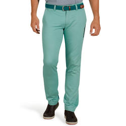 Smart'ee Men's Golf Trousers - Grey Green