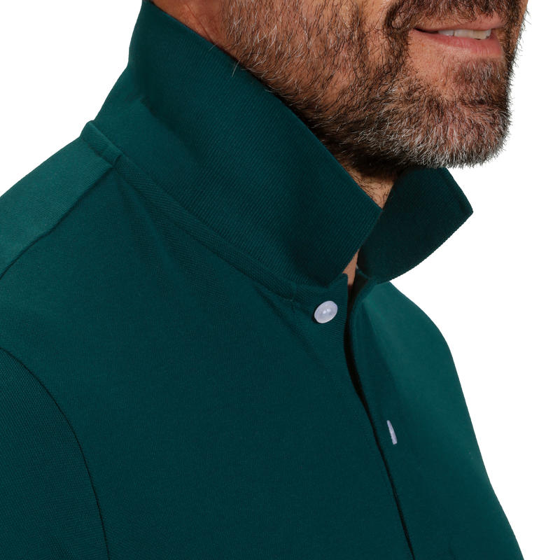 MEN'S GOLF POLO T-SHIRT 500 -DARK GREEN