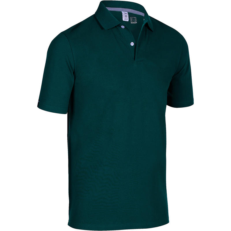 cb1a8108e Buy Golf Polo T-Shirts Online in India | Men's Polo 500 Dark Petrol