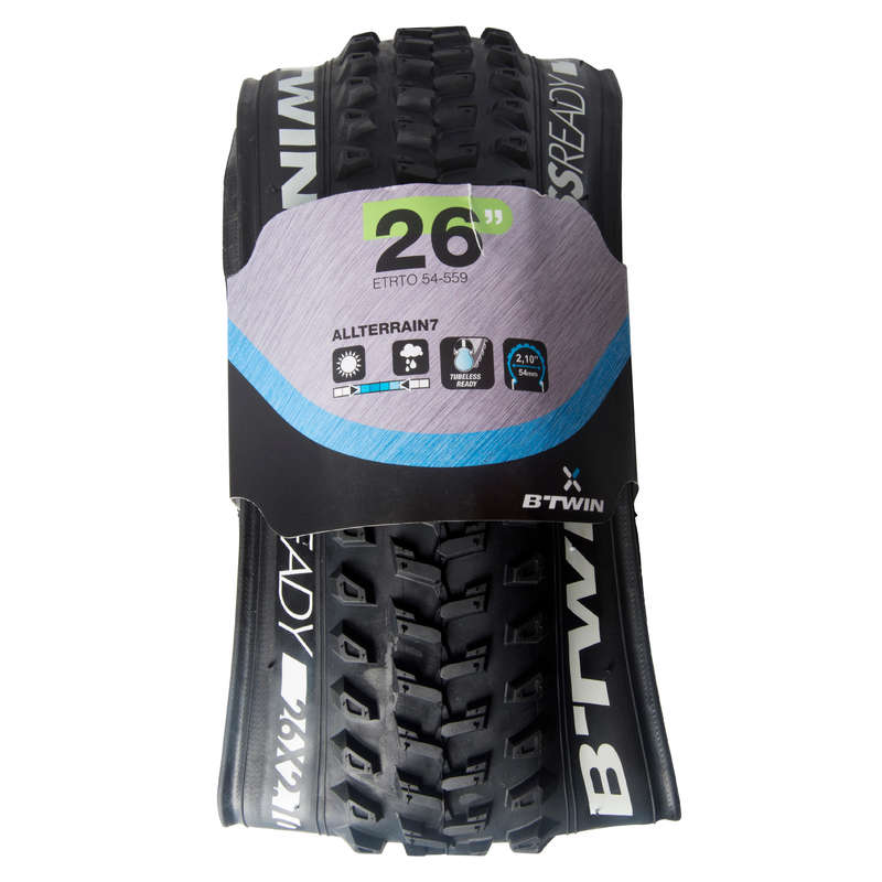 PLÁŠTĚ NA MTB SMÍŠENÝ TERÉN Cyklistika - PLÁŠŤ PRO MTB 9 SPEED 26
