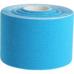 Strapping voor volwassenen Skintape blauw 5 cm x 5 m