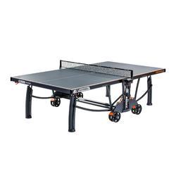 TABLE DE TENNIS DE TABLE FREE CROSSOVER 700M OUTDOOR GRISE