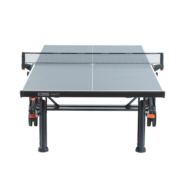 TABLE DE TENNIS DE TABLE FREE CROSSOVER 700M OUTDOOR GRISE