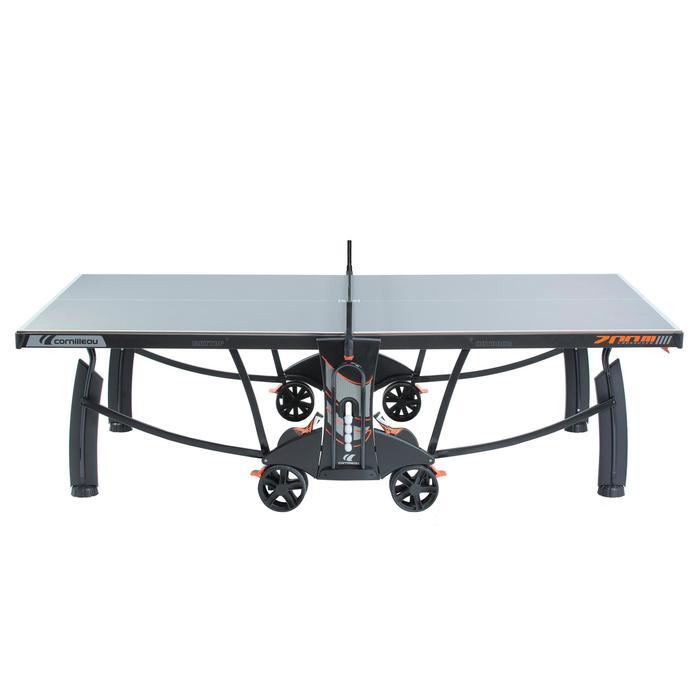 Tafeltennistafel / pingpongtafel outdoor 700M Crossover grijs