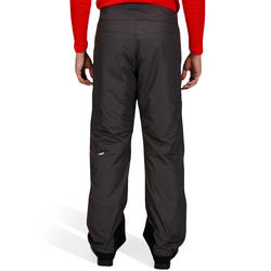 SKI-P 100 MEN'S DOWNHILL SKI PANTS - GREY