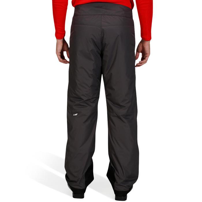 Men SKI-P 100 MEN S DOWNHILL SKI PANTS - GREY - Decathlon 57bde56a1