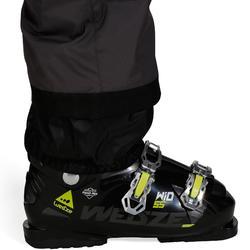 Skibroek voor pisteskiën heren 100 grijs
