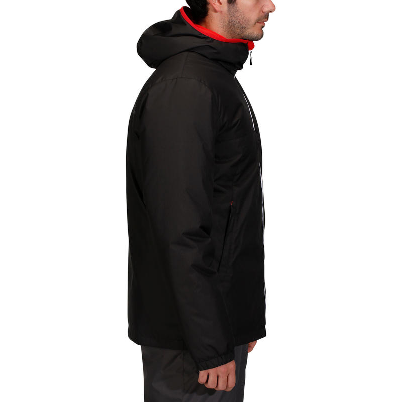 MEN'S DOWNHILL SKI JACKET 100 - BLACK