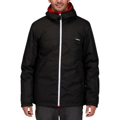 Chaqueta de Esquí y Nieve Hombre Wedze Ski-P 100 Negro