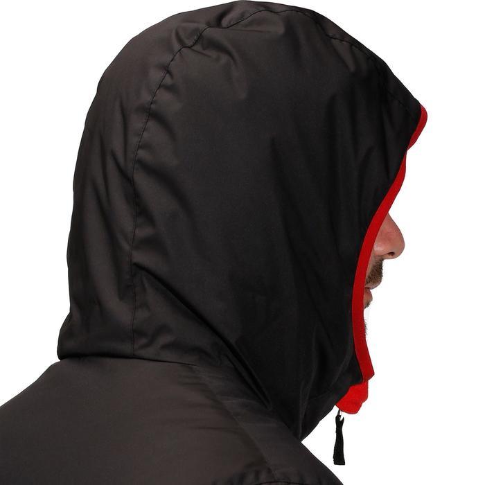 Skijacke Piste 100 Herren schwarz