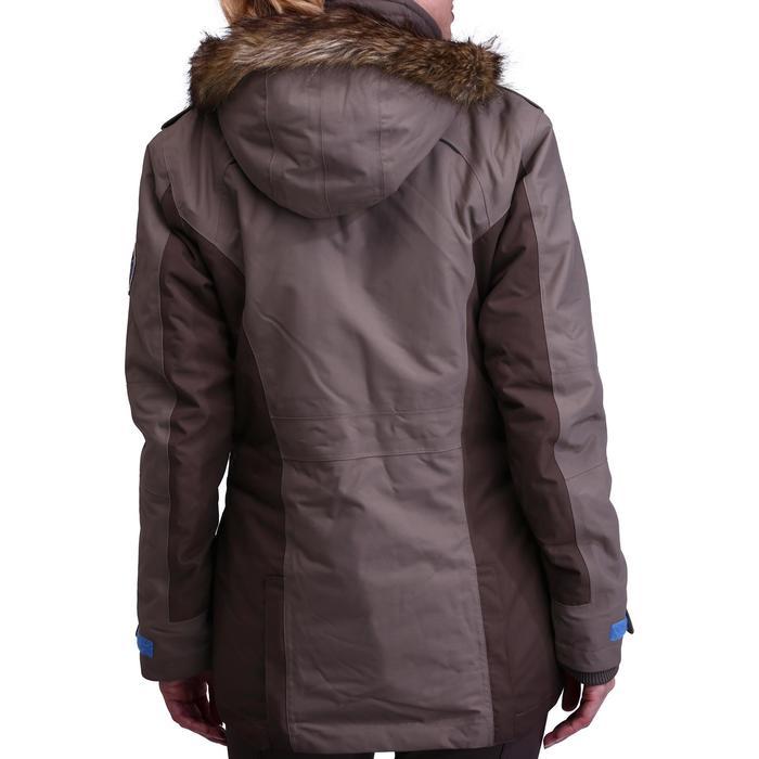 Winter-Reitparka Paddock warm Damen braun