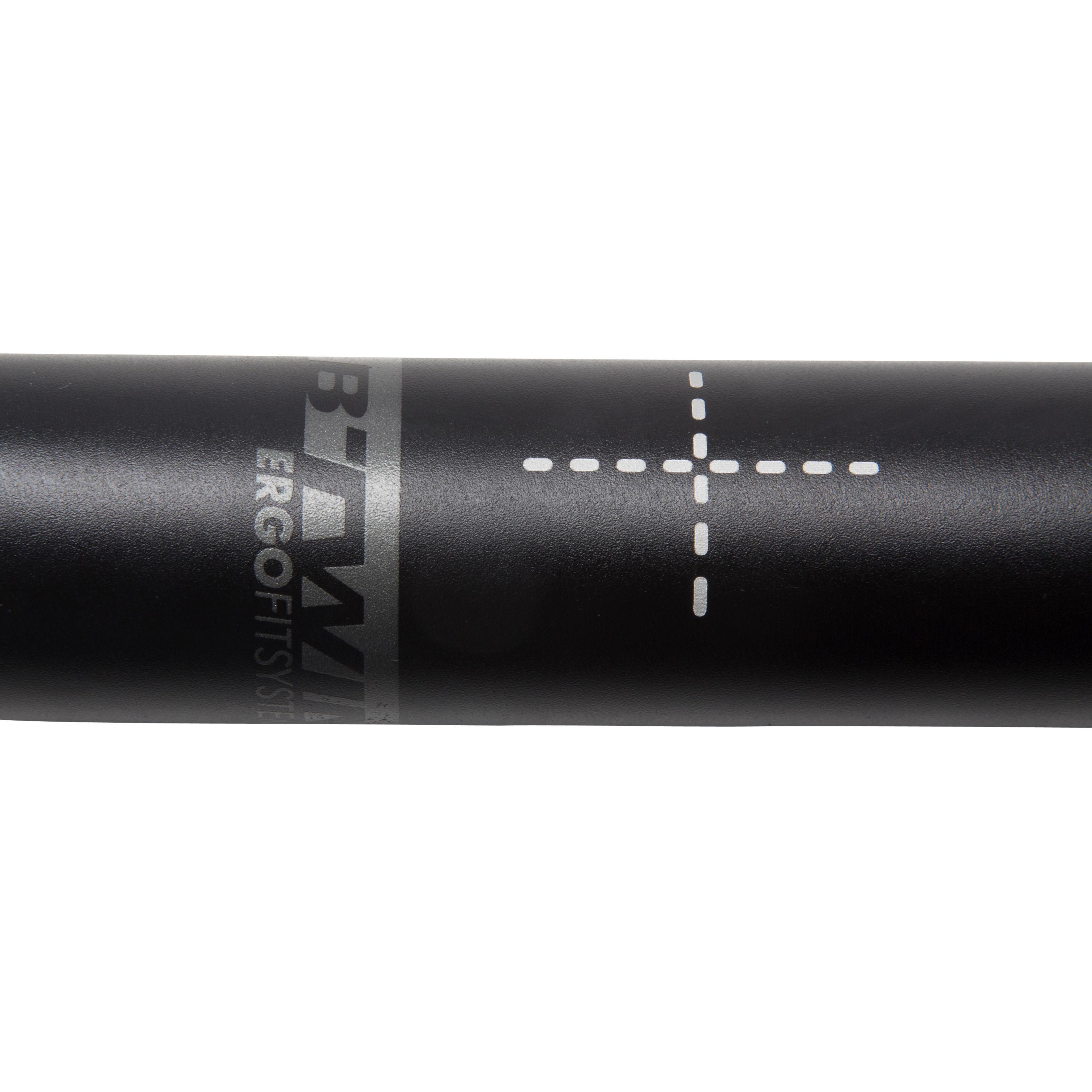 Ergonomic Road Bike Handlebar 31.8 mm x 42 cm - Black