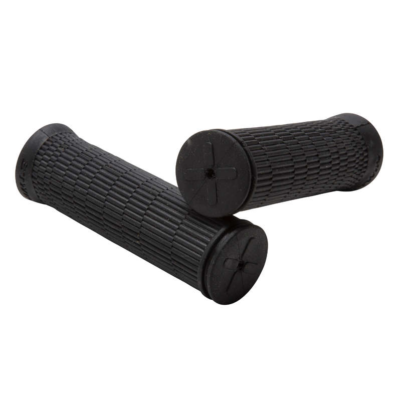 BIKE STEERING SYSTEM Cycling - 100 Short Sport Grips ROCKRIDER - Bike Parts