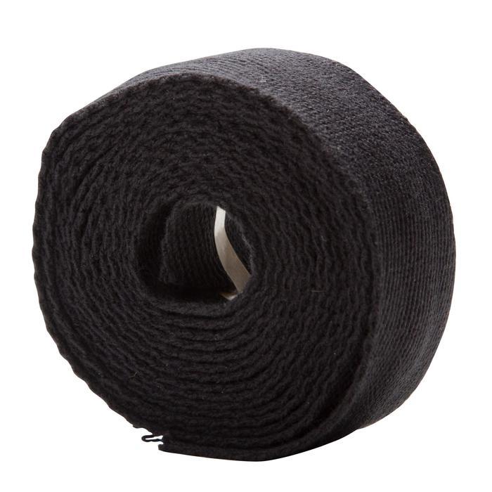 Stuurlinten katoen zwart