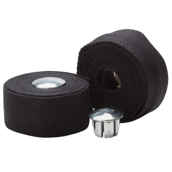 Stuurlinten katoen zwart - 734621