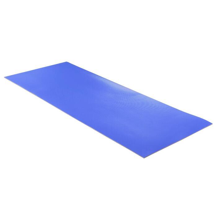 Gymnastikmatte 500 abriebfest Pilates Toning Größe M 7mm blau