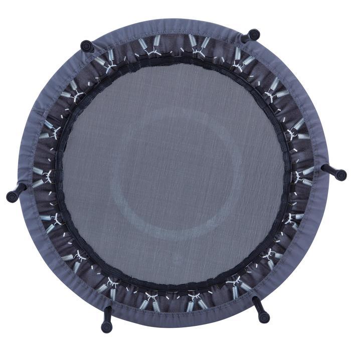 Trampolín Cama Elástica Domyos Essential 101,50 cm hasta 80 kg gris