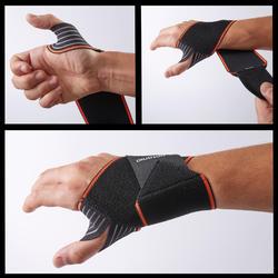 Maintien poignet gauche/droite homme/femme SOUPLE 300 noir
