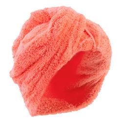 Haarhanddoek in zachte microvezel oranje
